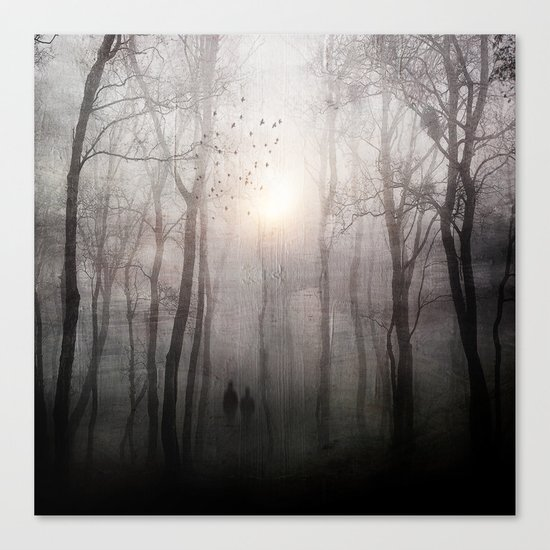 Eternal walk Canvas Print