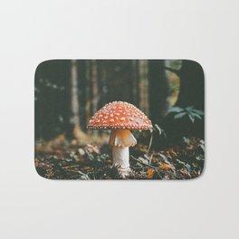 Forest Mushroom Bath Mat