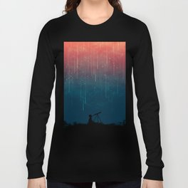 Meteor rain Long Sleeve T-shirt