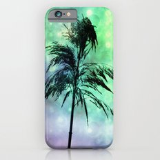 Grass Collage Purple & Green Lights iPhone 6s Slim Case