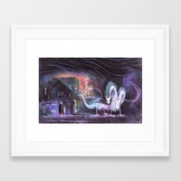 spirited away Framed Art Prints featuring Spirited Away by snowmarite