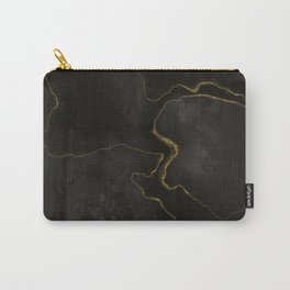Elegant Black Onix Carry-All Pouch