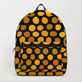 Honeycomb Ombre Dots Pattern Backpack