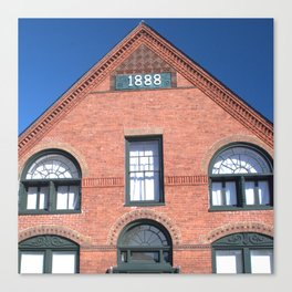 1888 Building, Ticonderoga Canvas Print