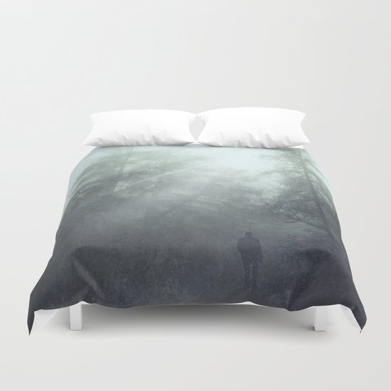 enter the wild Duvet Cover