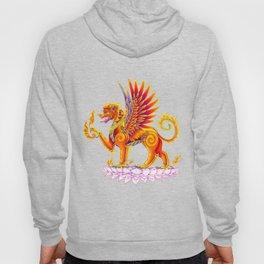 Singha Winged Lion Temple Guardian Hoody