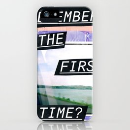 Do you remember? iPhone Case