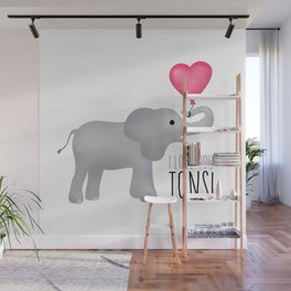 I Love You Tons! Wall Mural