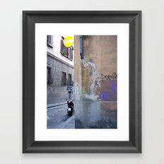 Firenze Graffiti Framed Art Print