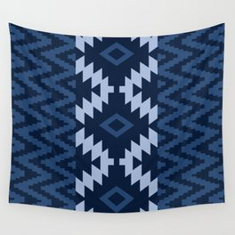 Ion in Navy  Wall Tapestry