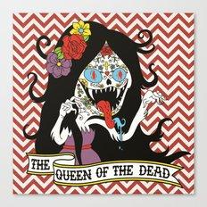 Muertos Marceline Canvas Print