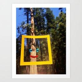 Nature Faces - Incense Cedar  Art Print