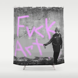 Fvck Art Shower Curtain