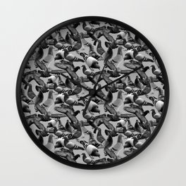 """""""Who's afraid of a pigeon?"""" Wall Clock"""