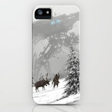 1920 - winter walker iPhone SE Slim Case
