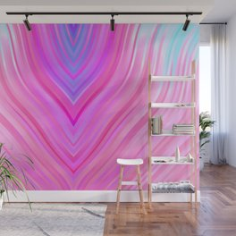 stripes wave pattern 3 c80i Wall Mural