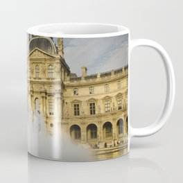 La fontaine du Louvre Coffee Mug