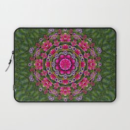 fantasy floral wreath in the green summer  leaves Laptop Sleeve