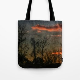 Old Sunset Tote Bag