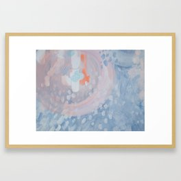 Over the Falls Framed Art Print