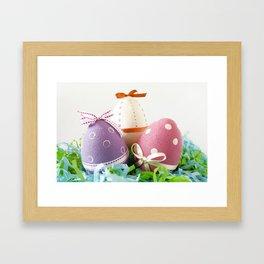Happy easter! Framed Art Print