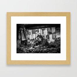 Shuk Story-Part 1 Framed Art Print