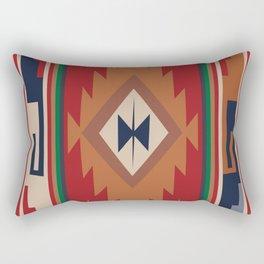 American Native Pattern No. 19 Rectangular Pillow