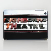 theatre iPad Cases featuring Theatre by Caitlin Victoria Parker