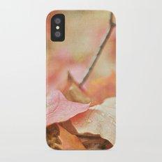 Forest Floor in Autumn Slim Case iPhone X