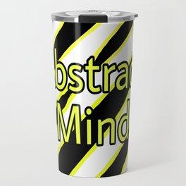 Abstract Mind Mental Health Art Travel Mug