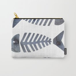 Fish Trio Carry-All Pouch