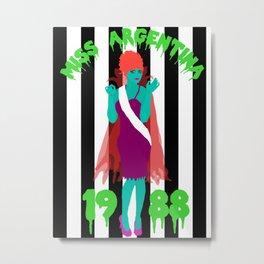 Miss Argentina Metal Print