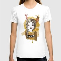 hippie T-shirts featuring Hippie by Janry
