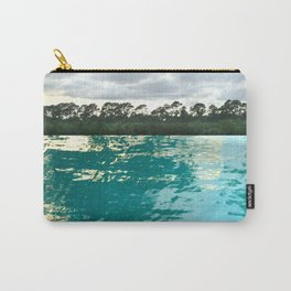 seascape 002: lacy trees and palm isles pool Carry-All Pouch