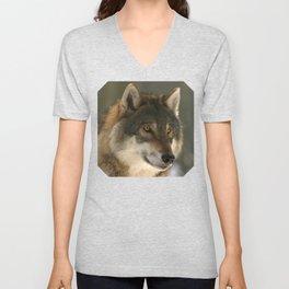 Lone Wolf Unisex V-Neck