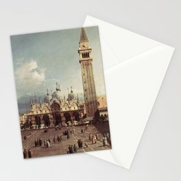 Canaletto - Piazza San Marco, Venice Stationery Cards