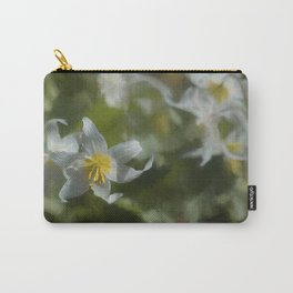 Avalanche Lily Painterly Carry-All Pouch