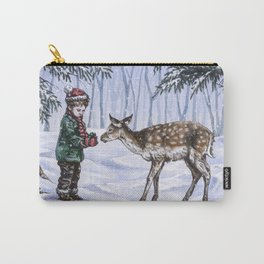 A Holiday Gift Carry-All Pouch