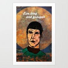 Live Long... Art Print