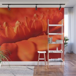 Red secret Wall Mural