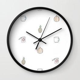 Je suis l'automne Wall Clock