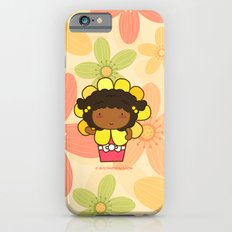 Flower in a Pot iPhone 6s Slim Case