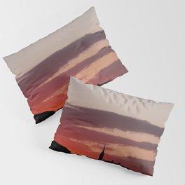 Sunset  - JUSTART © Pillow Sham