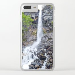 Coastal Runoff Clear iPhone Case