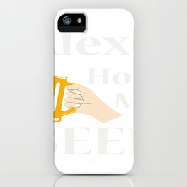Bruder muss los iPhone Case