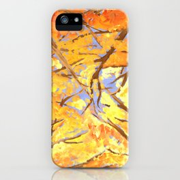 A Fire in the Trees iPhone Case