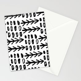 Hand Drawn Arrows Stationery Cards