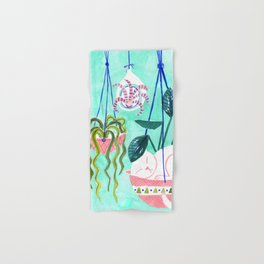Hanging Gardens Hand & Bath Towel