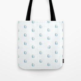 Milk Carton Pattern  Tote Bag