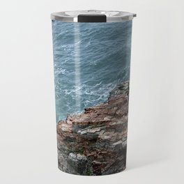 land meets sea Travel Mug